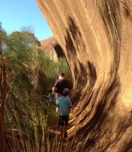 Elachbutting Rock