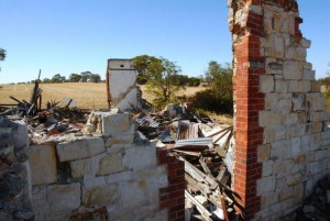 Meckering Earthquake Farm Ruins